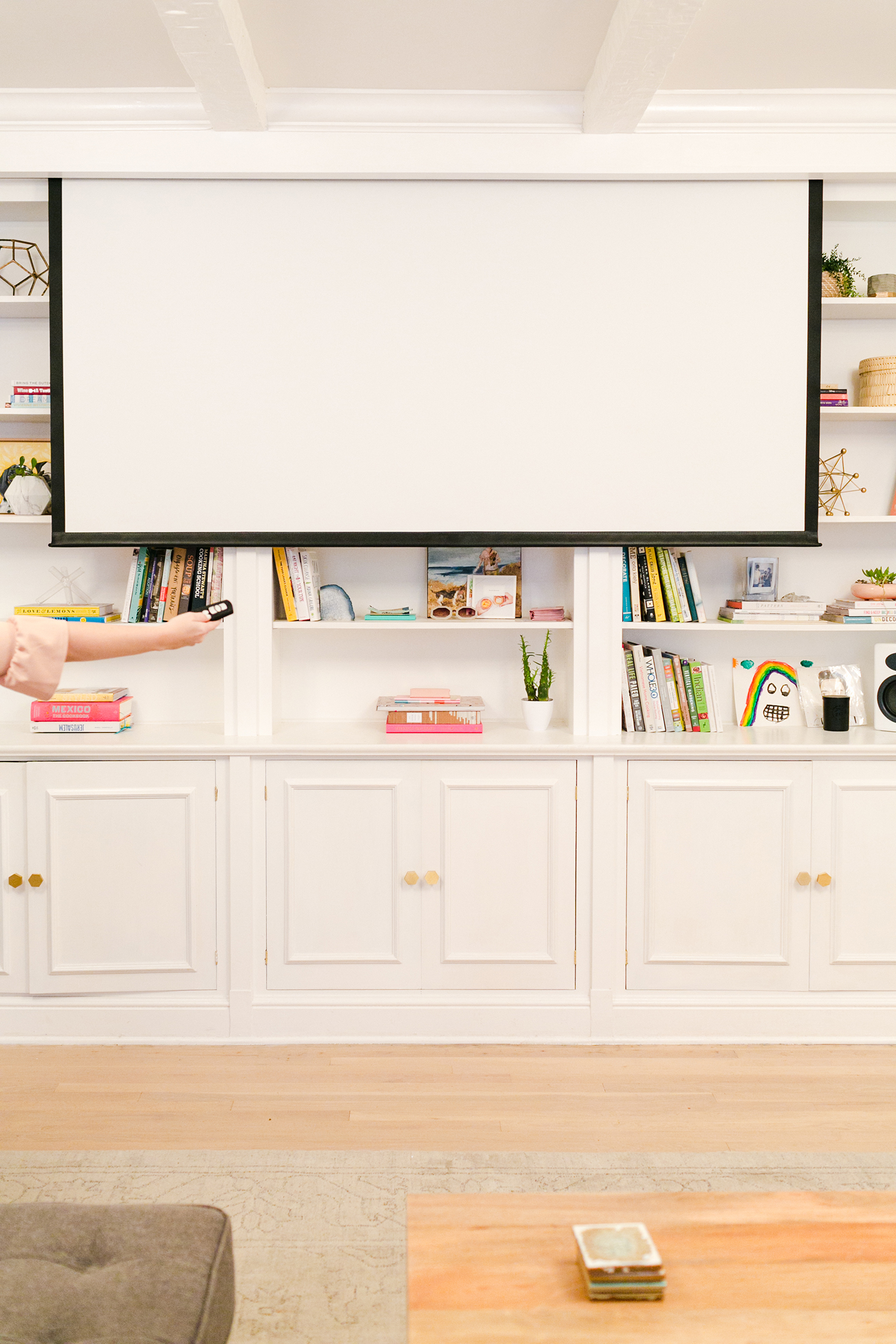 Project Projector- Why we traded in our television for a projector