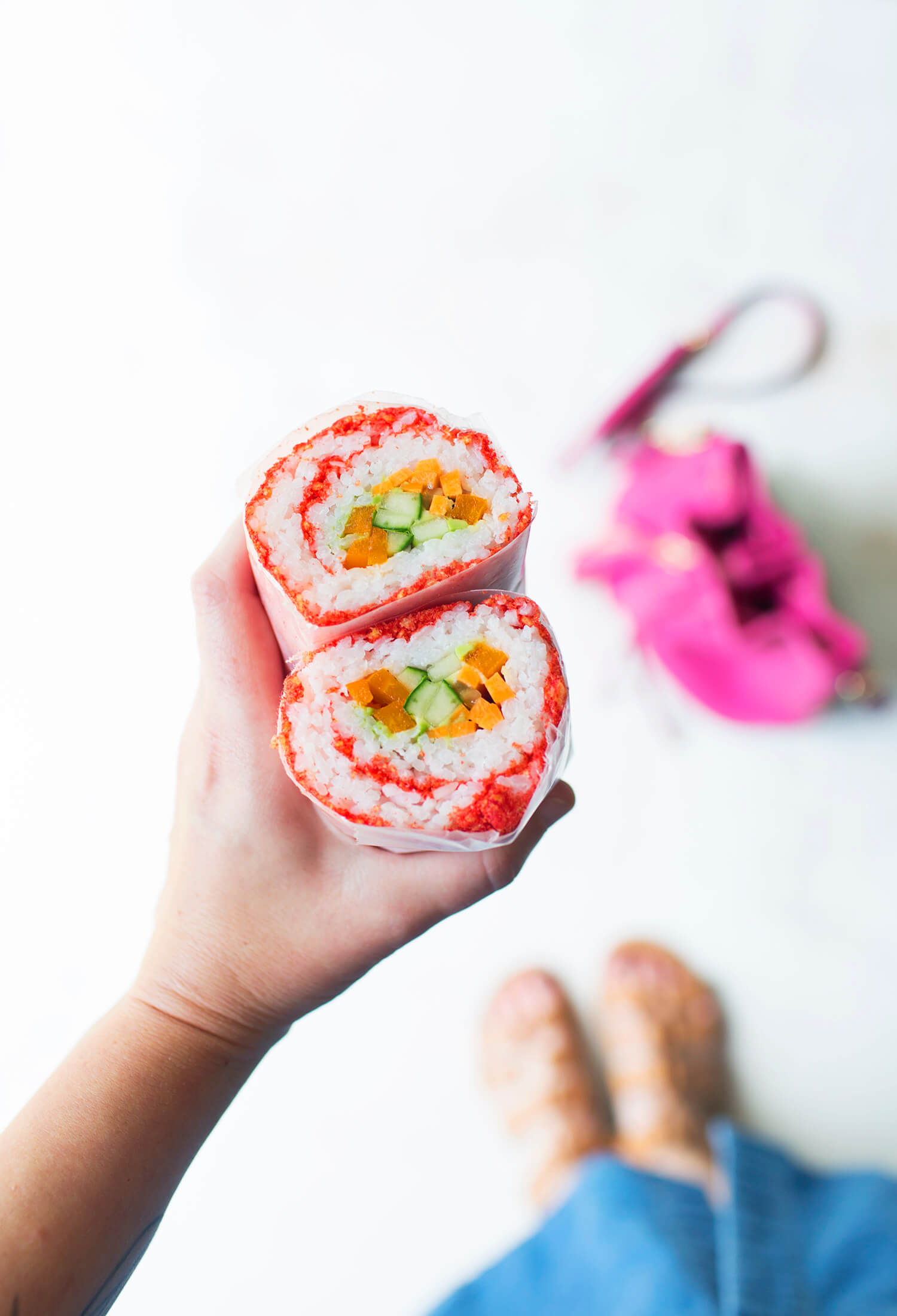 How to make a sushi burrito