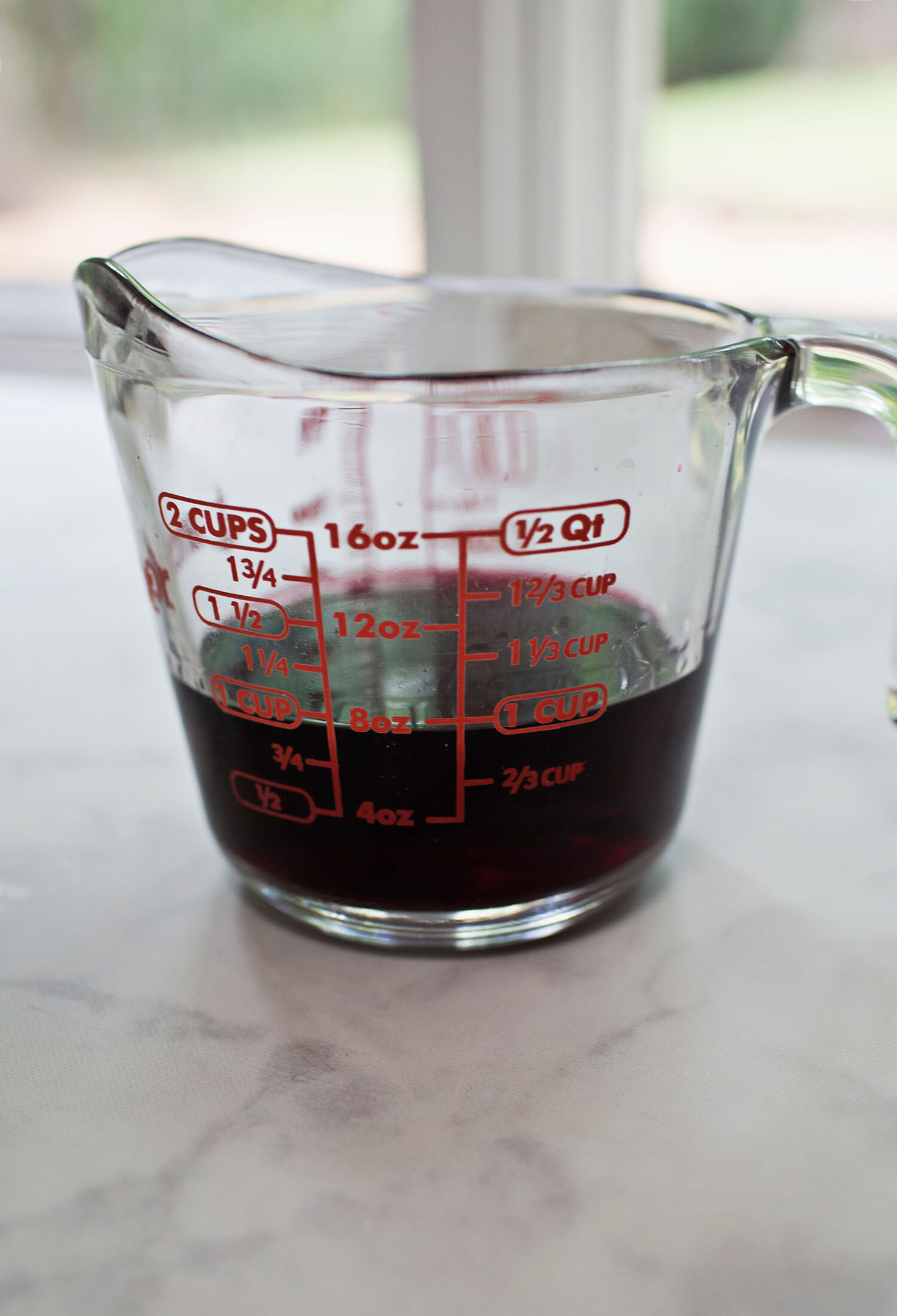 How to reduce red wine