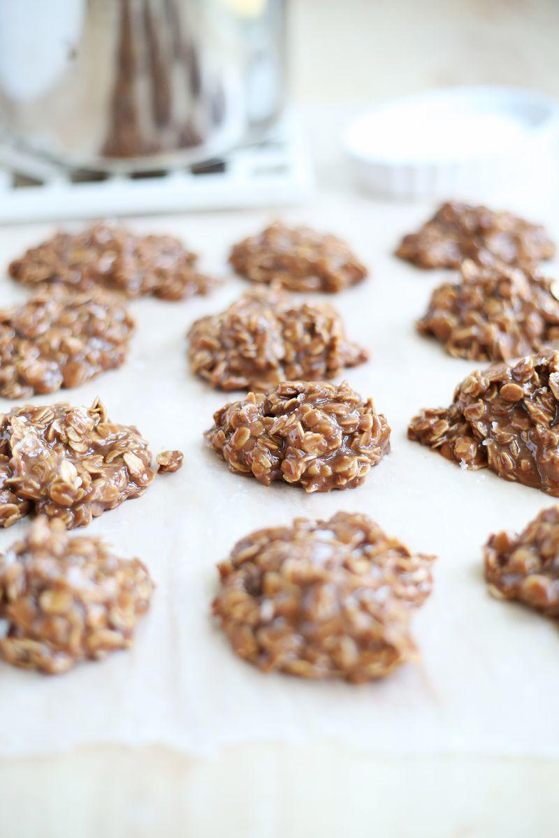 My favorite no bake cookie recipe (click through for recipe)