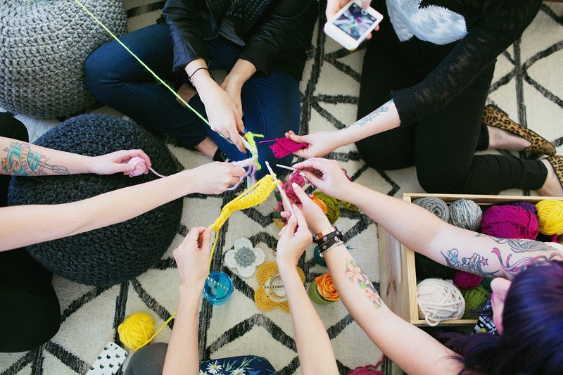 Crochet party