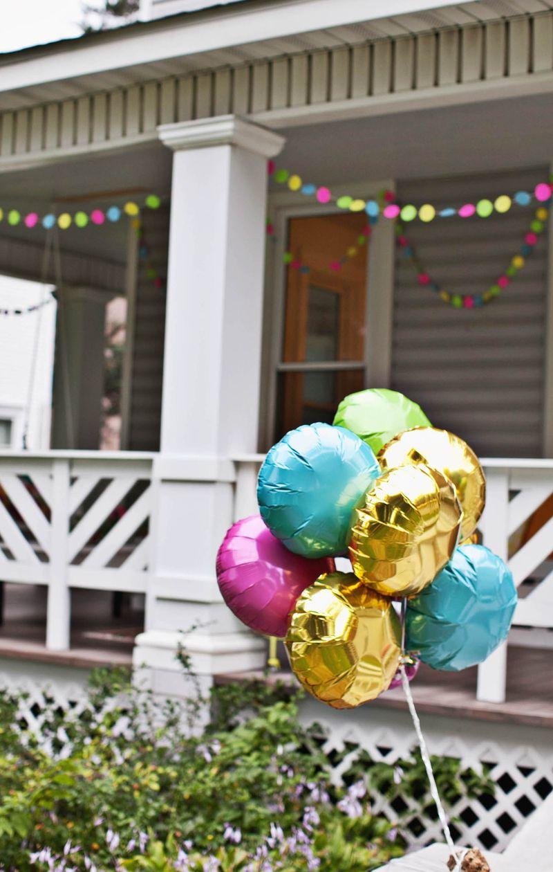 Balloons are always a good idea