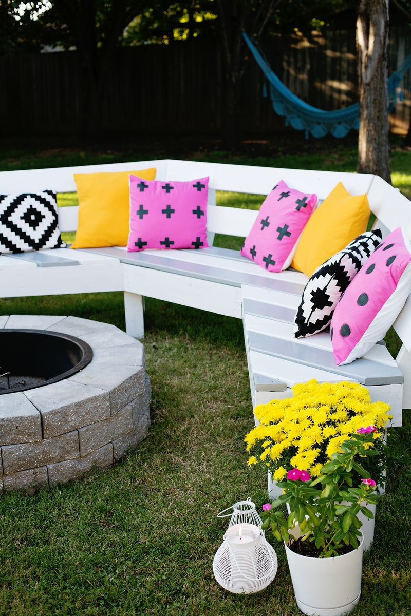 Firepit Bench - paint (click for more info)