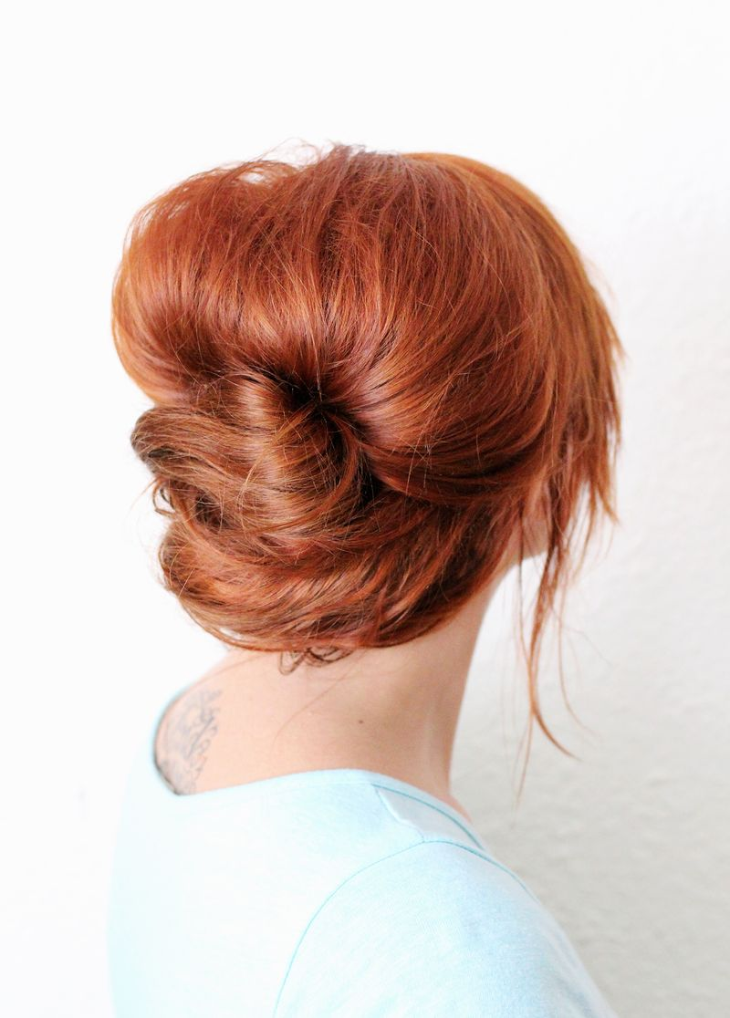 Everyday french twist (click through for tutorial)