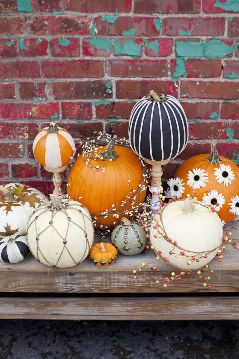 easy no-carve pumpkin ideas