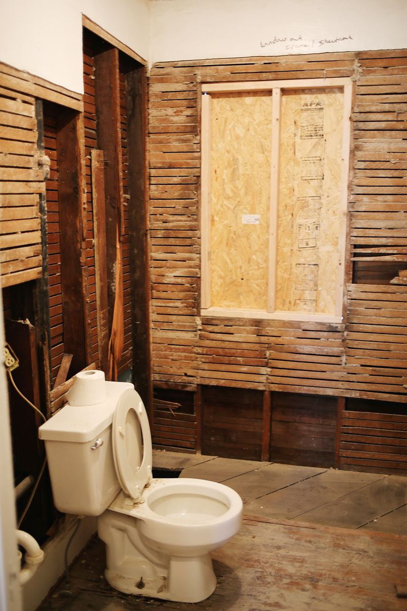 Whoa the bathroom
