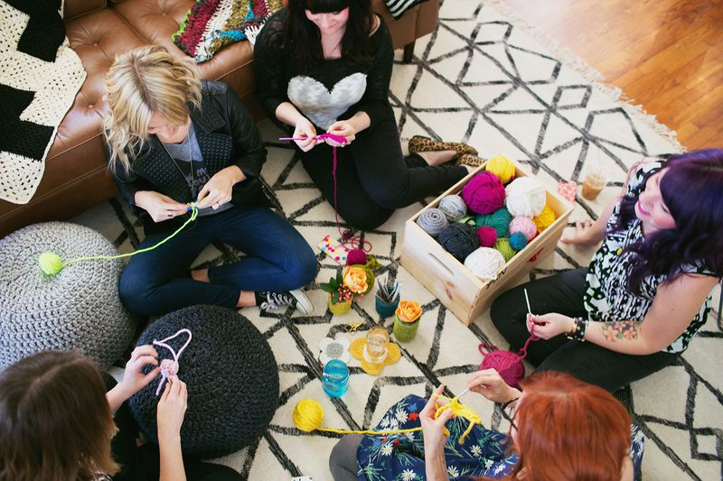 Crochet Party!