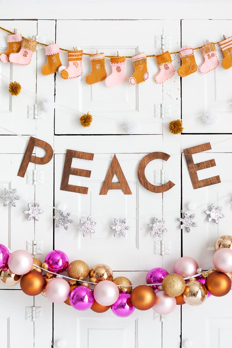 Diy Holiday Garlands 5 Ways A Beautiful Mess