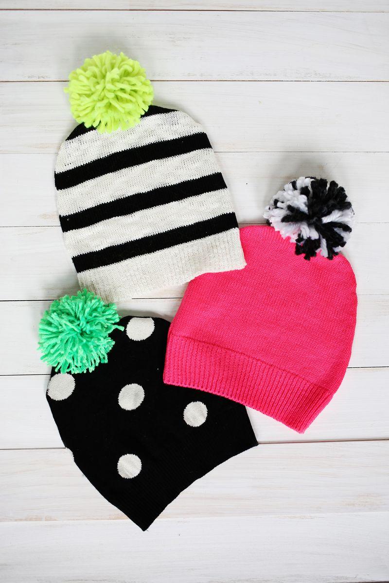 Homeamde gift idea, stocking caps!
