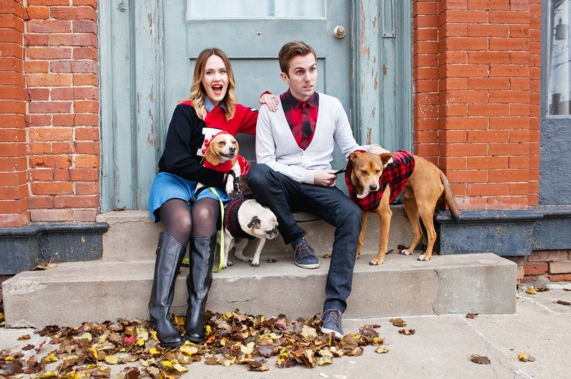 Trey George and Emma Chapman