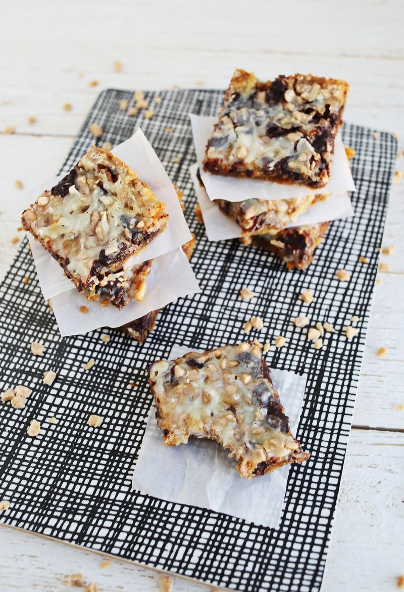 Coconut and Toffee Bars (via staging.abeautifulmess.com)