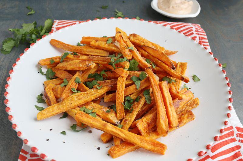 Best (Baked) Sweet Potato Fries (via abeautifulmess.com)