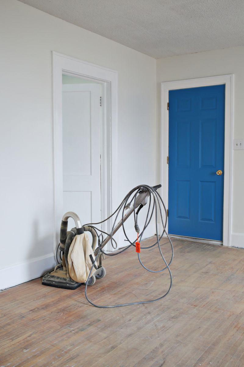 Best type of sander to use for refinishing old hardwood floors