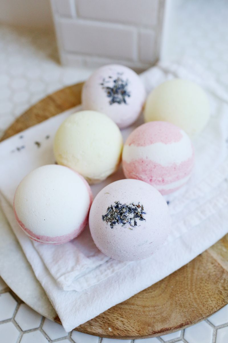 Fool proof homemade bath bombs