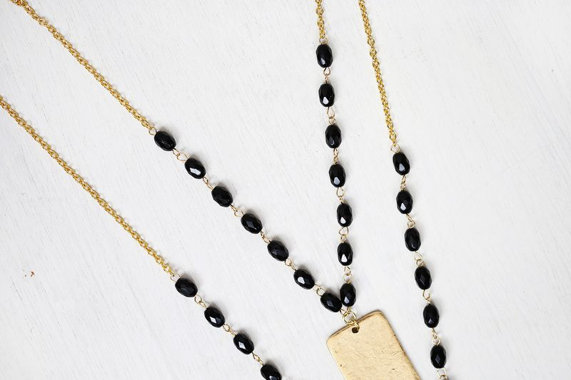 Make this $240 Anthro necklace for only $40! (click through for tutorial)