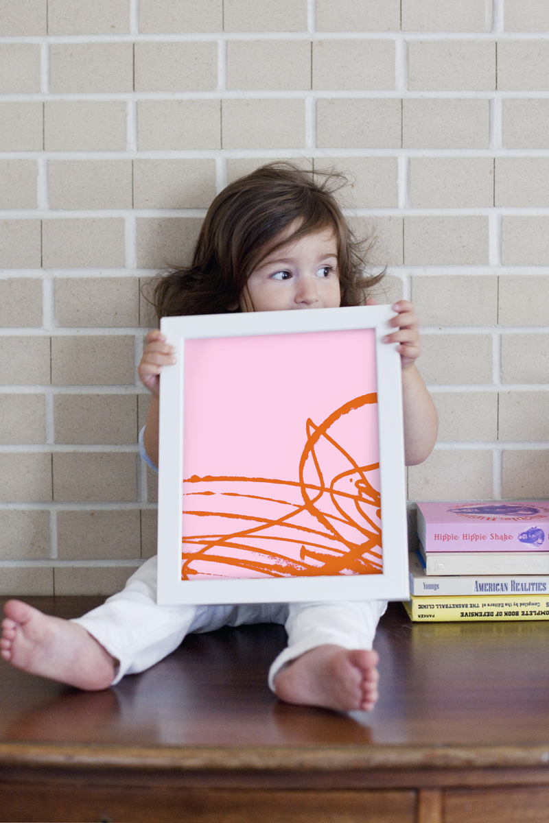Modern kiddo art