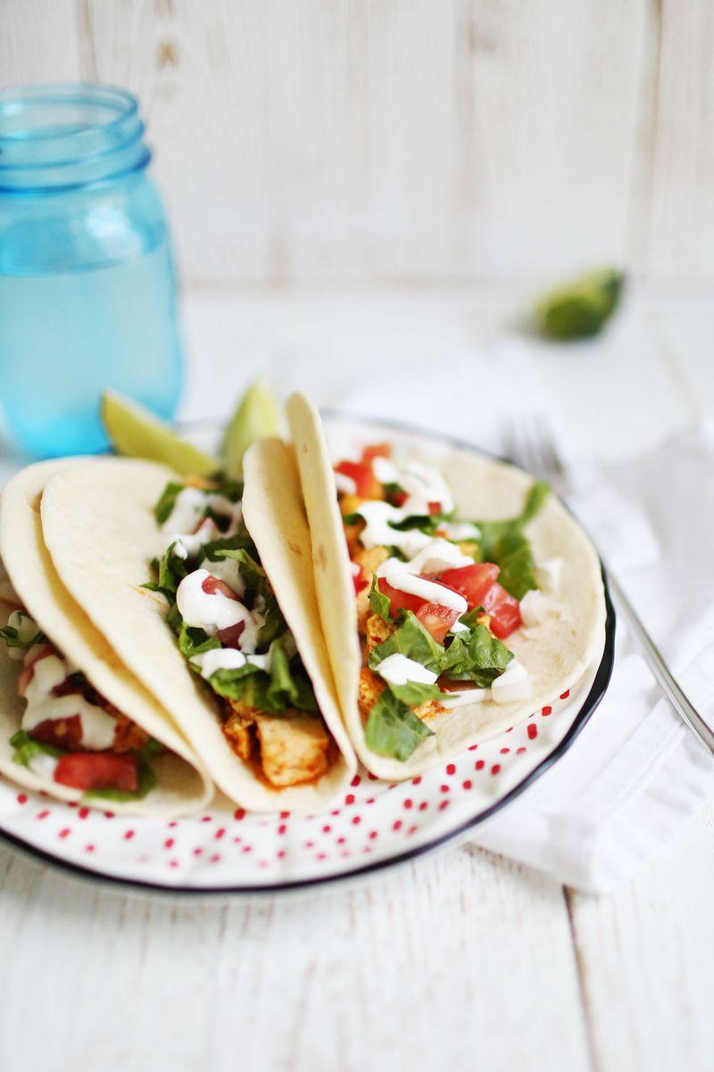 Easy Sofritas Tacos (via abeautifulmess.com)