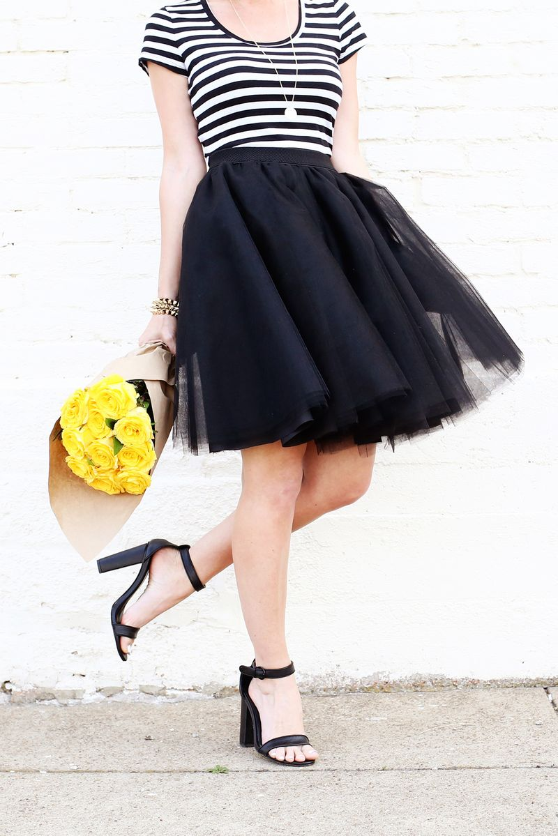 Love this! Tulle circle skirt DIY (click through for tutorial)