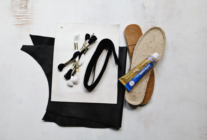 Diy shoe supplies