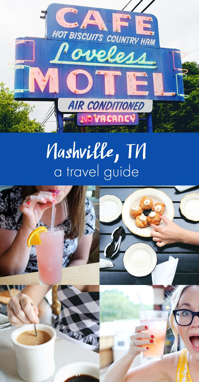 Nashville, Tennessee A Travel Guide via ABeautifulMess.com