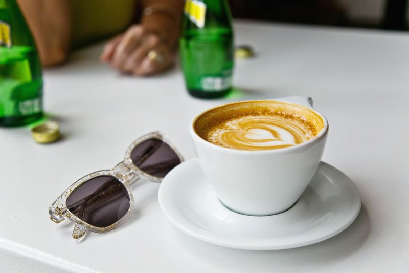 Coffee time with mom