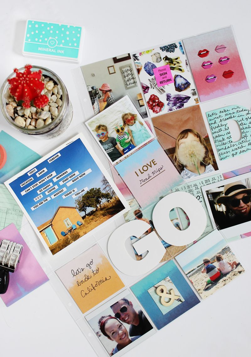 Take up scrapbooking