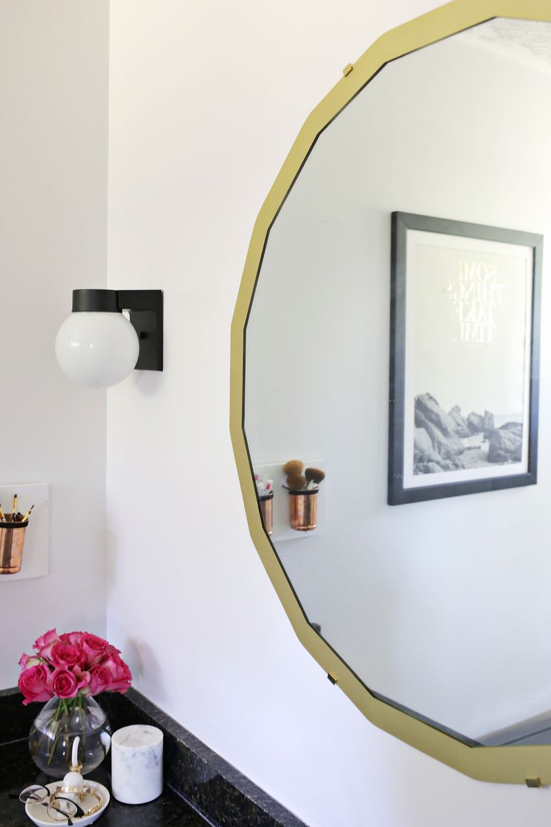 4 solutions for fixing black spots on vintage mirrors (click through for more)