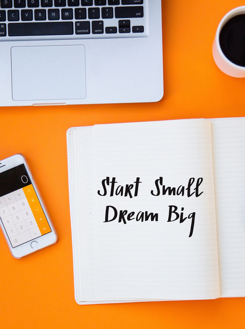 Start Small Dream Big eCourse