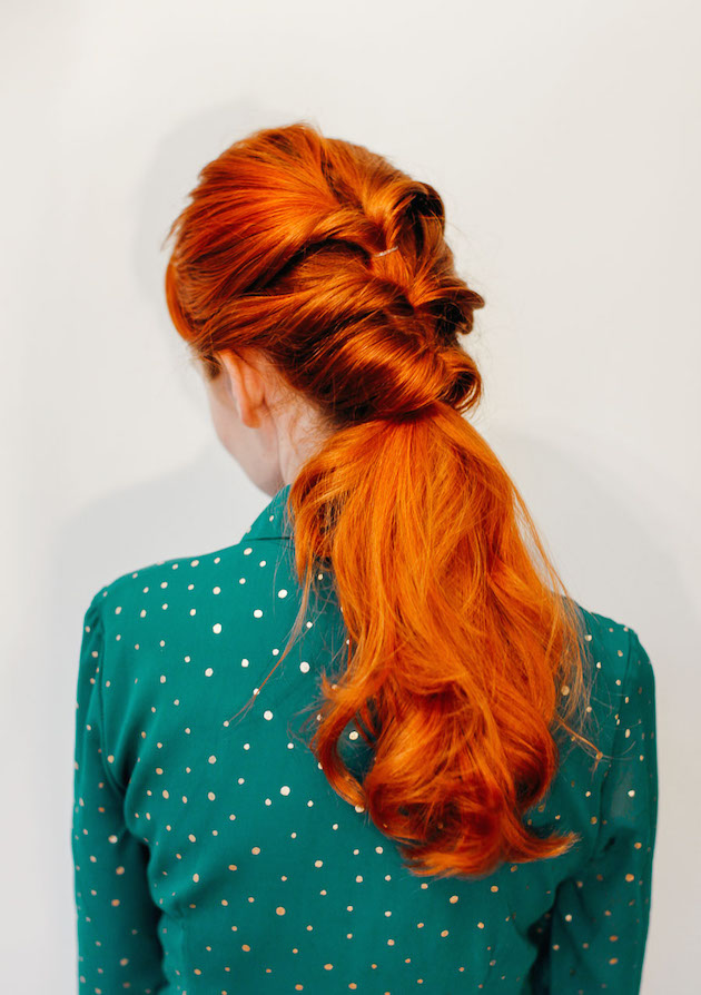 Love this triple twisted pony! (click through for tutorial)
