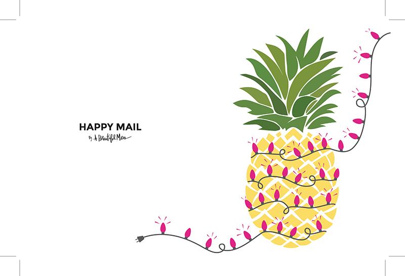 Printable holiday cards!