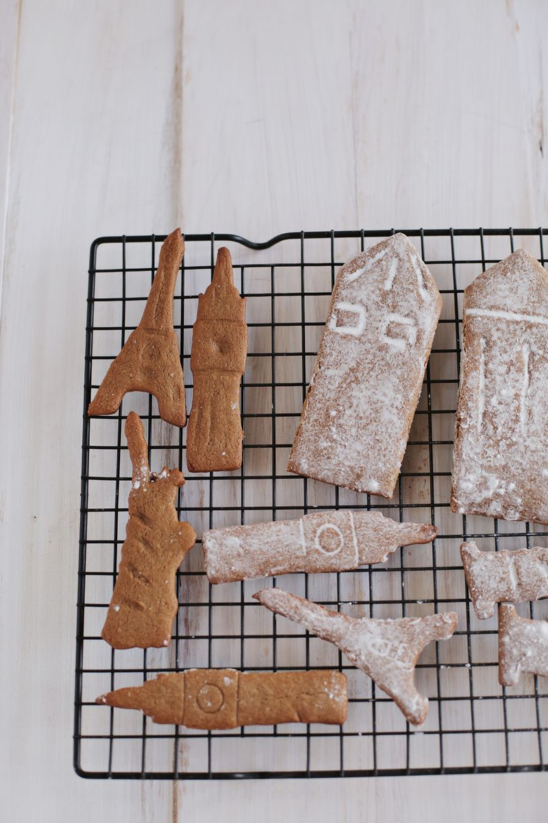 Spicy gingerbreak cookie recipe