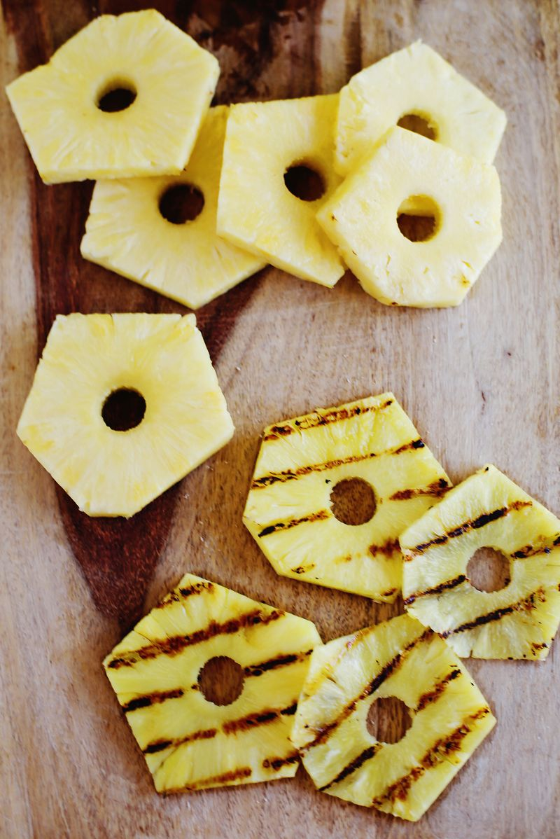 Grilled pineapple!