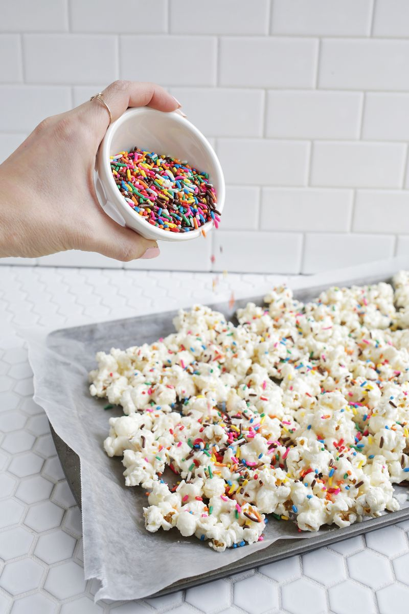 Birthday Cake Popcorn Click Through For Recipe