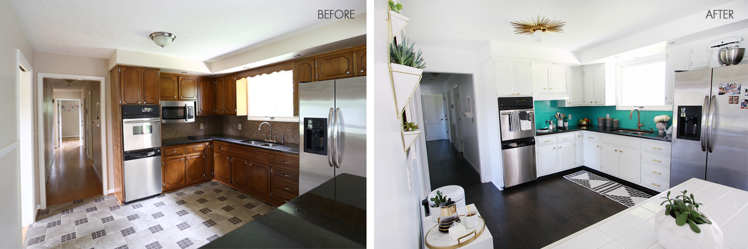 Astonishing Lauras Kitchen Before After A Beautiful Mess Best Image Libraries Thycampuscom