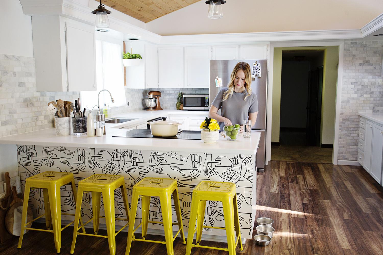 Emma Chapman's kitchen tour (via abeautifulmess.com)