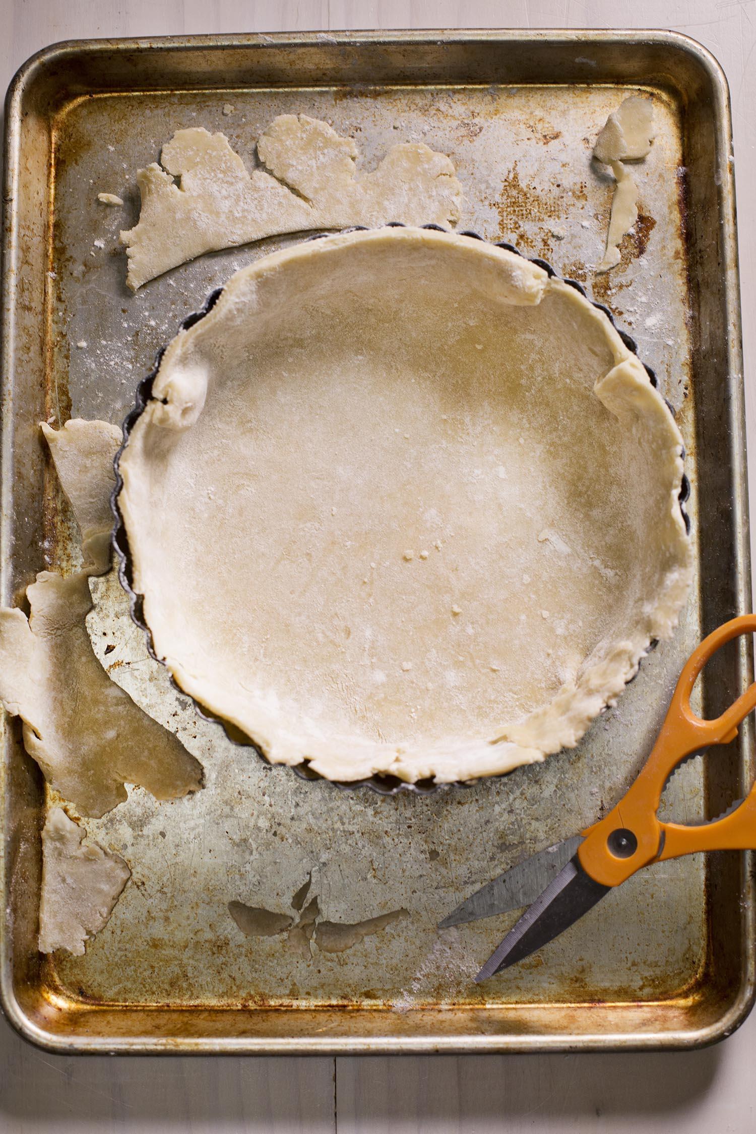Quiche crust recipe