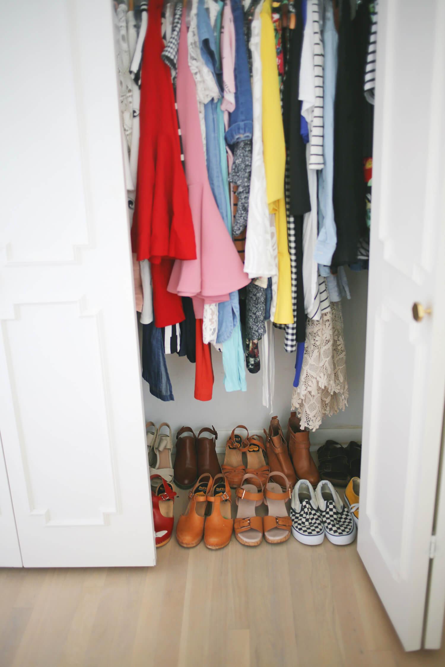 Progress Report- Helen's Closet Makeover