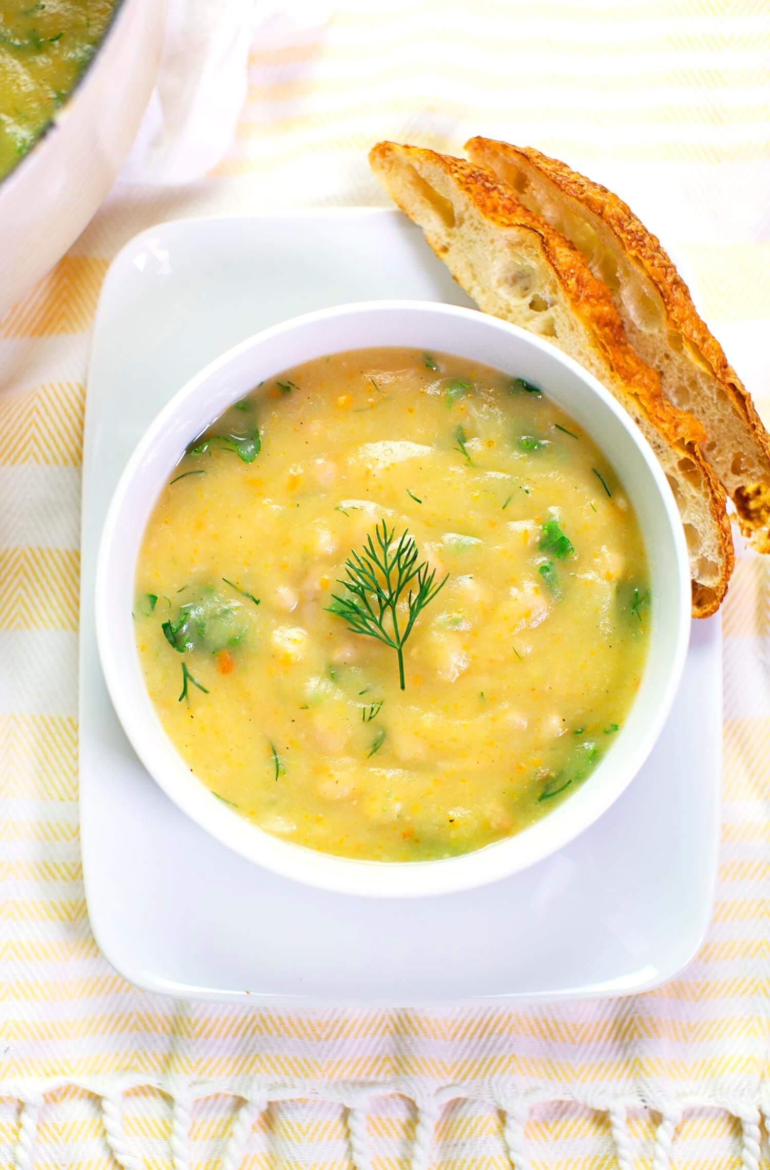 Creamy vegan soup recipes