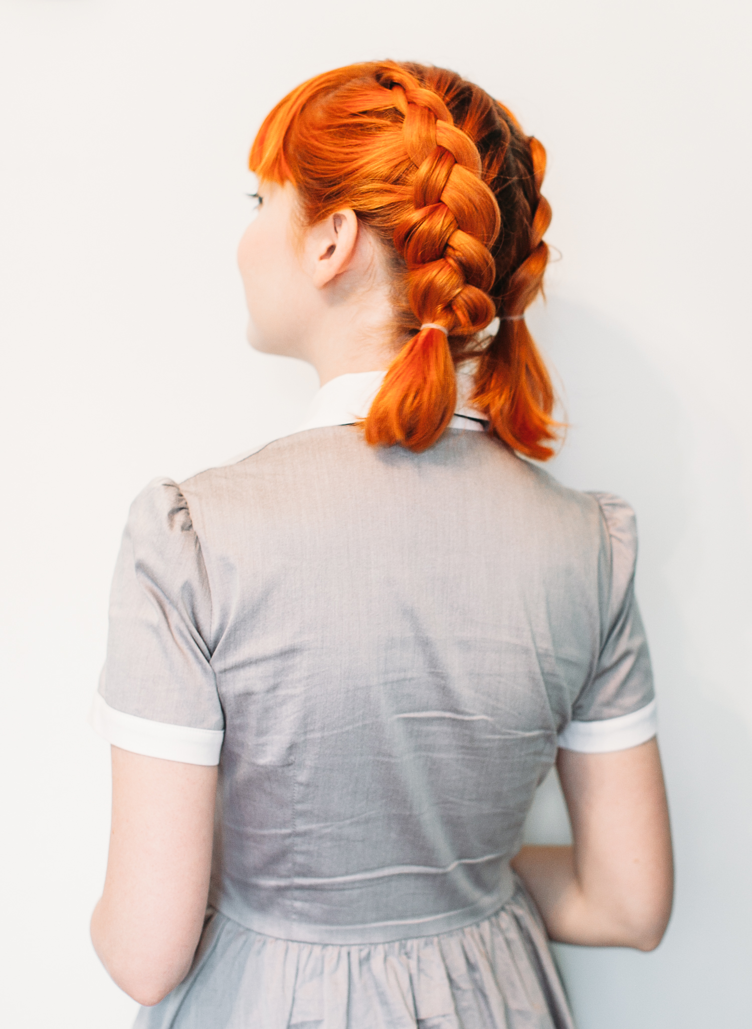Double dutch pigtails for short hair (click-through for the full tutorial)