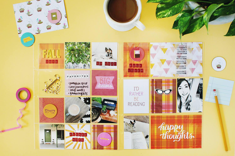Scrapbook Sunday September Messy Box (via abeautifulmess.com)