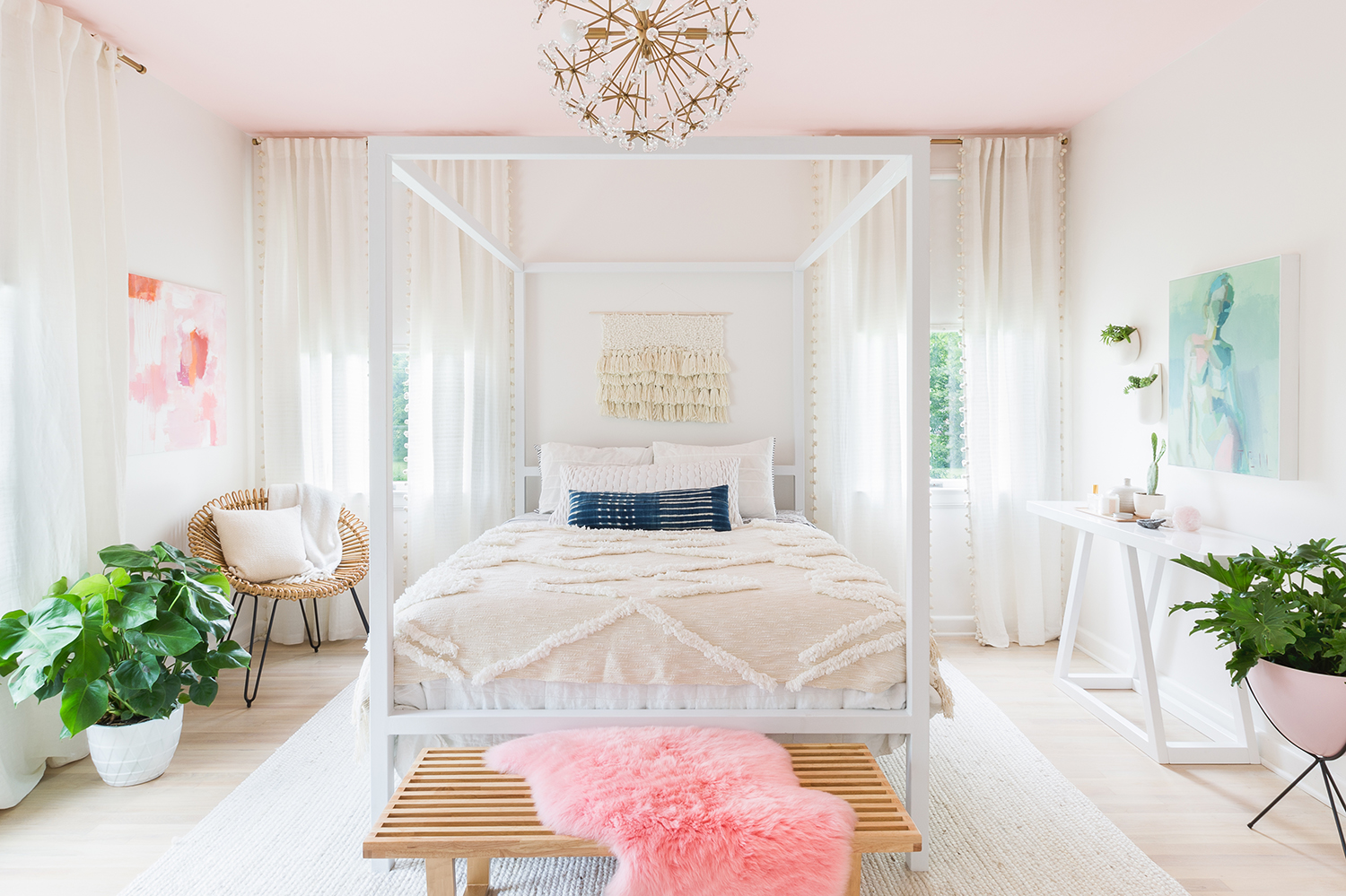 A Beautiful Mess Photo By Alyssarosenheck Here S Our White Bedroom
