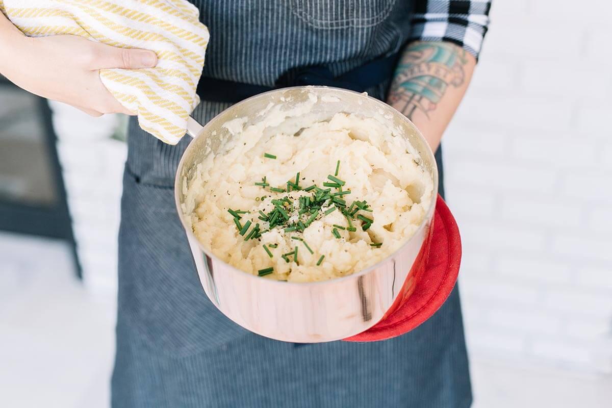 Mashed Parsnips and Potatoes (via abeautifulmess.com)