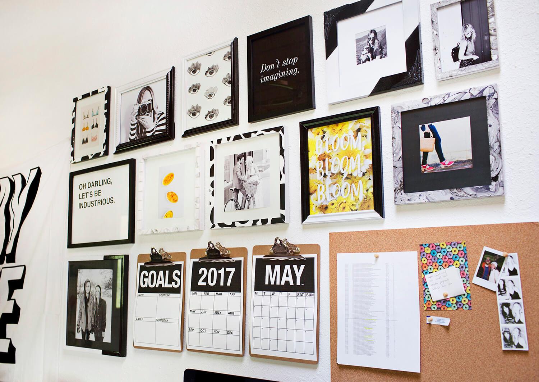 5 Ways to Update a Thrifted Frame (via abeautifulmess.com)