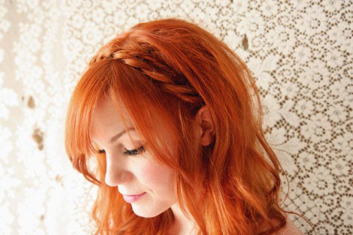 Maiden twists hairstyle DIY