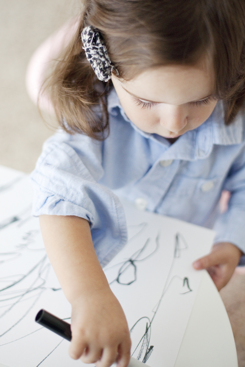Transform your kid's scribbles into modern art— so fun and easy!