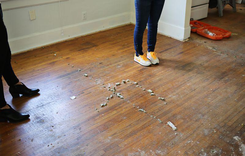 Wood floors!
