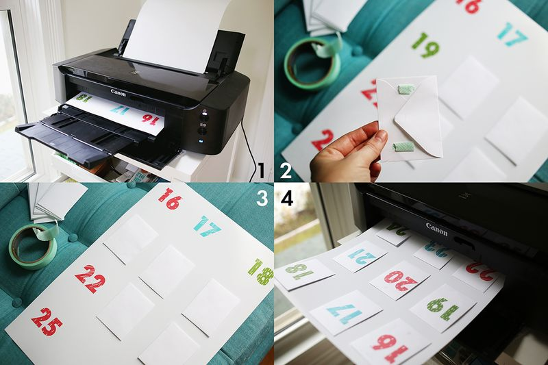 How to print on envelopes
