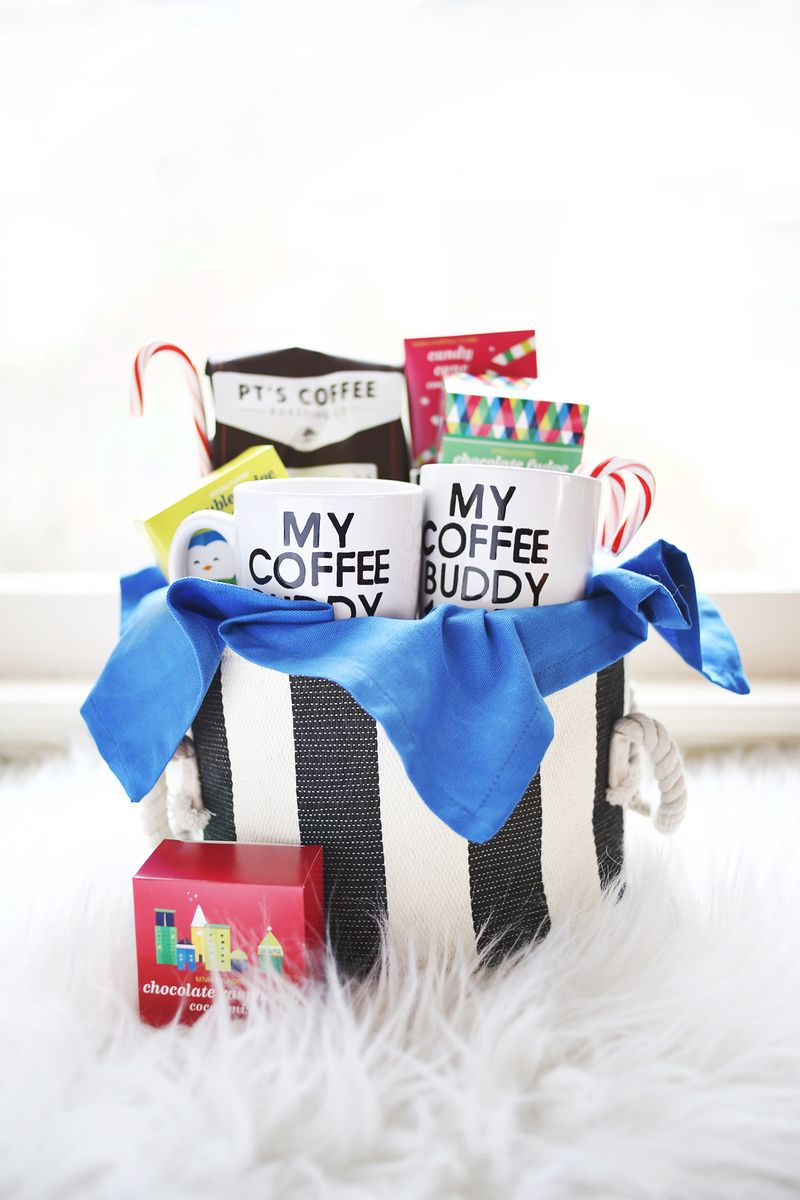 His and her coffee basket