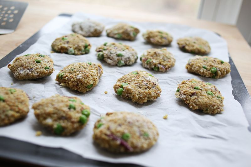 How to make quinoa patties