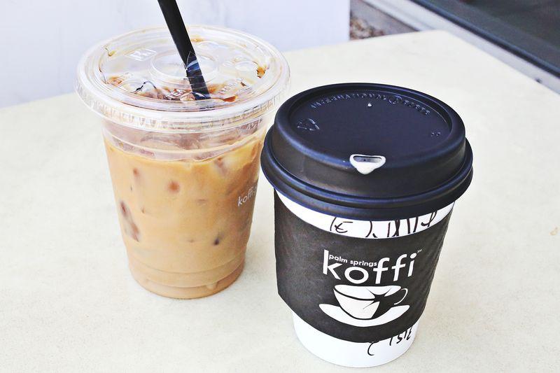 Koffi in Palm Springs
